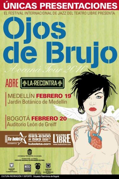 <p>Ojos de Brujo en Colombia</p>